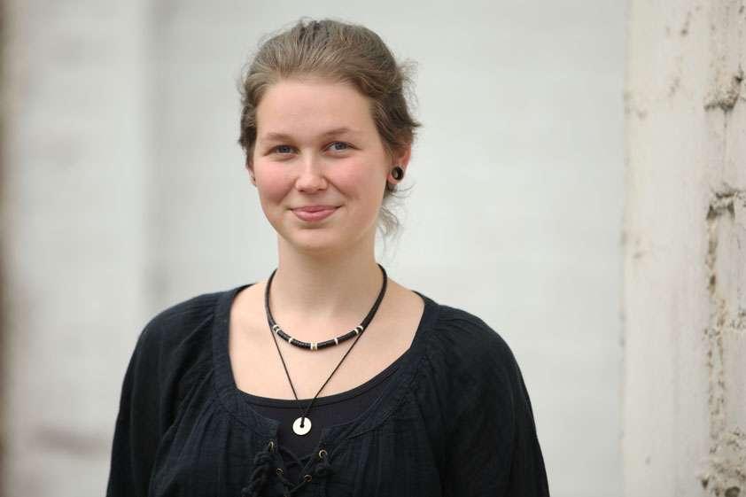 Leah Weber vom Jungen Ensemble Ruhr